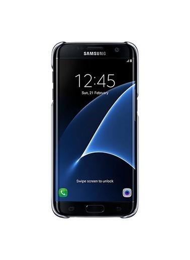 Samsung Samsung Galaxy S7 Clear Back Cover Orjinal Kılıf - Siyah Ef-Qg930Cbegww (Outlet) Renkli